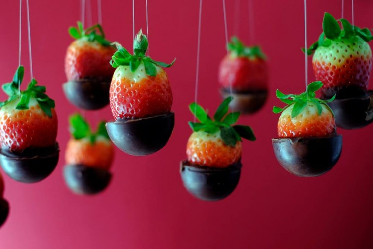 food-design-chocolate-con-fresas-barcelona-foodandevent