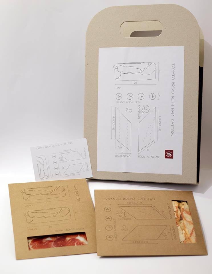 Packaging_Deconstrucción de un Bocadillo_BcnBridalWeek_CasaAlfonso_Food-and-Event