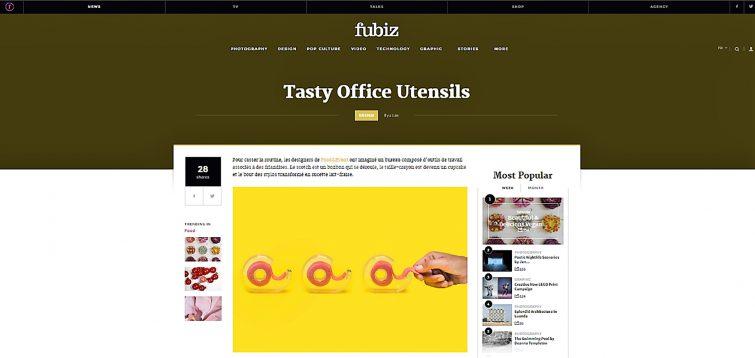 Publicación Fubiz_Tasty Office_FOOD&EVENT