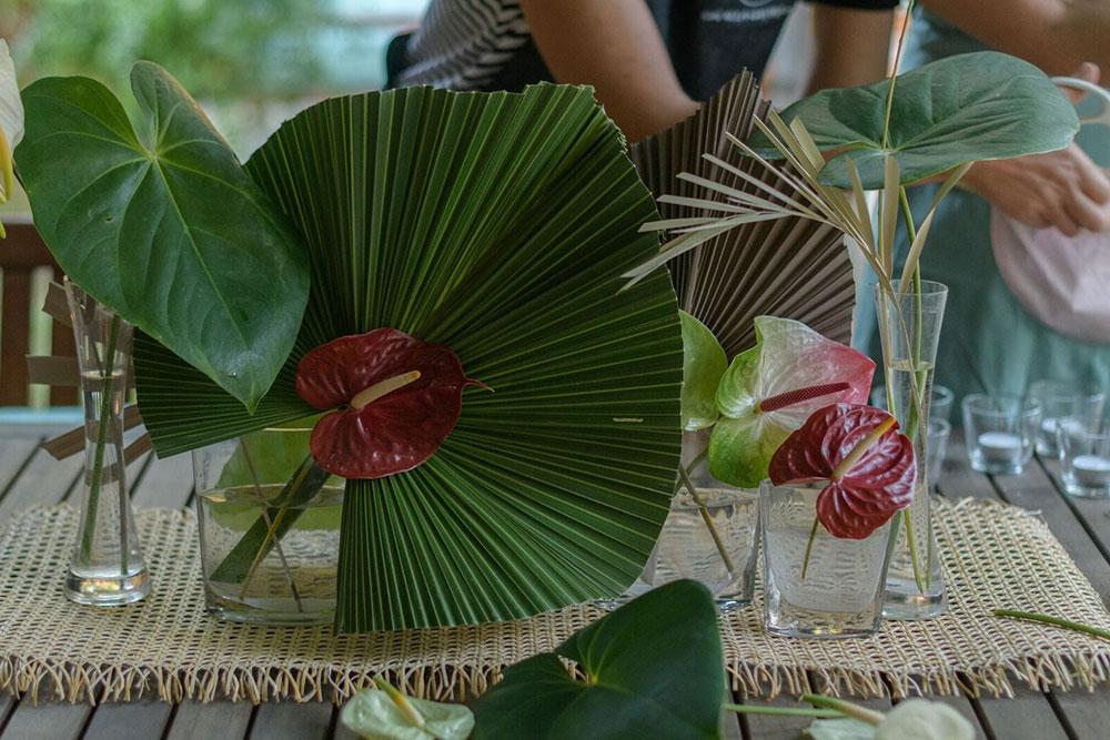 flores-trapicales-evento-republica-dominicana-food&event